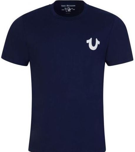 Load image into Gallery viewer, TR Rubber Logo T-Shirt Navy Hemingco
