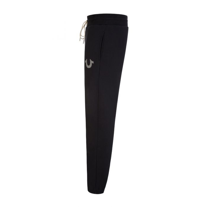 Load image into Gallery viewer, True Religion Core Tracksuit Bottoms Black HemingCo