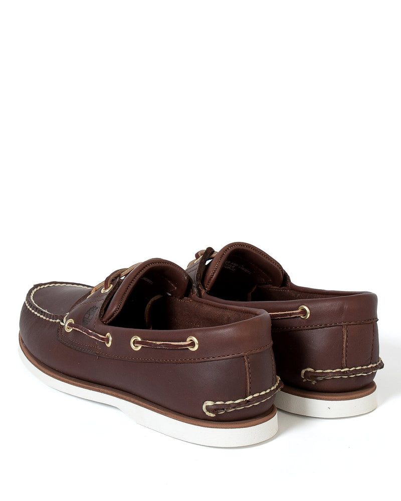 Load image into Gallery viewer, Timberland Classic 2 Eye Boat Shoe Brown HemingCo