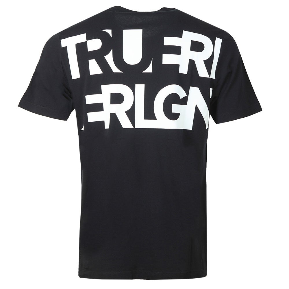 Load image into Gallery viewer, True Religion Crewneck T-Shirt Black HemingCo 1