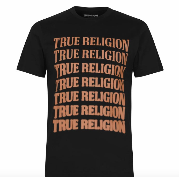 Load image into Gallery viewer, True Religion Descending T-Shirt Black HemingCo