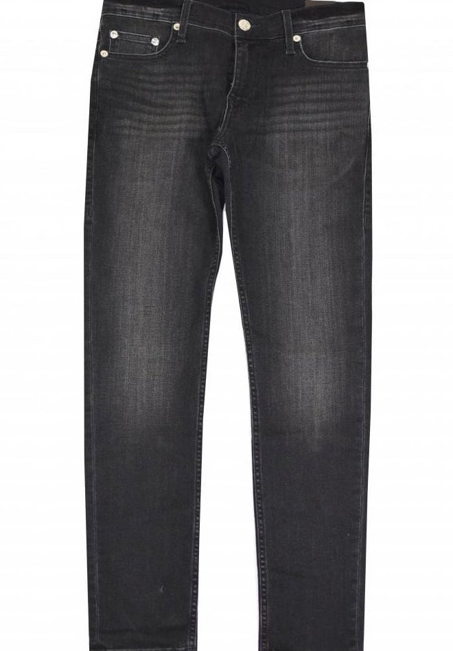 True Religion Tony No Flap Skinny Jeans Black HemingCo