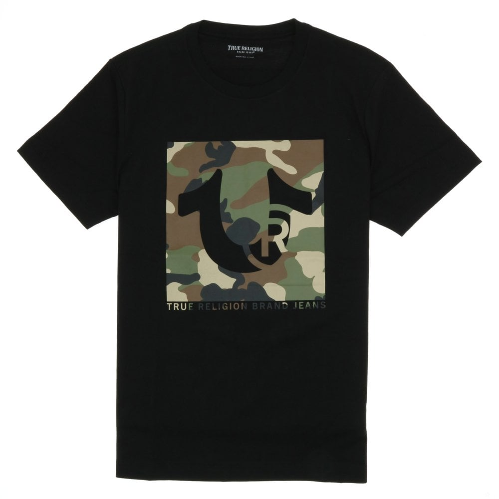Load image into Gallery viewer, True Religion Trademark T-Shirt Black HemingCo