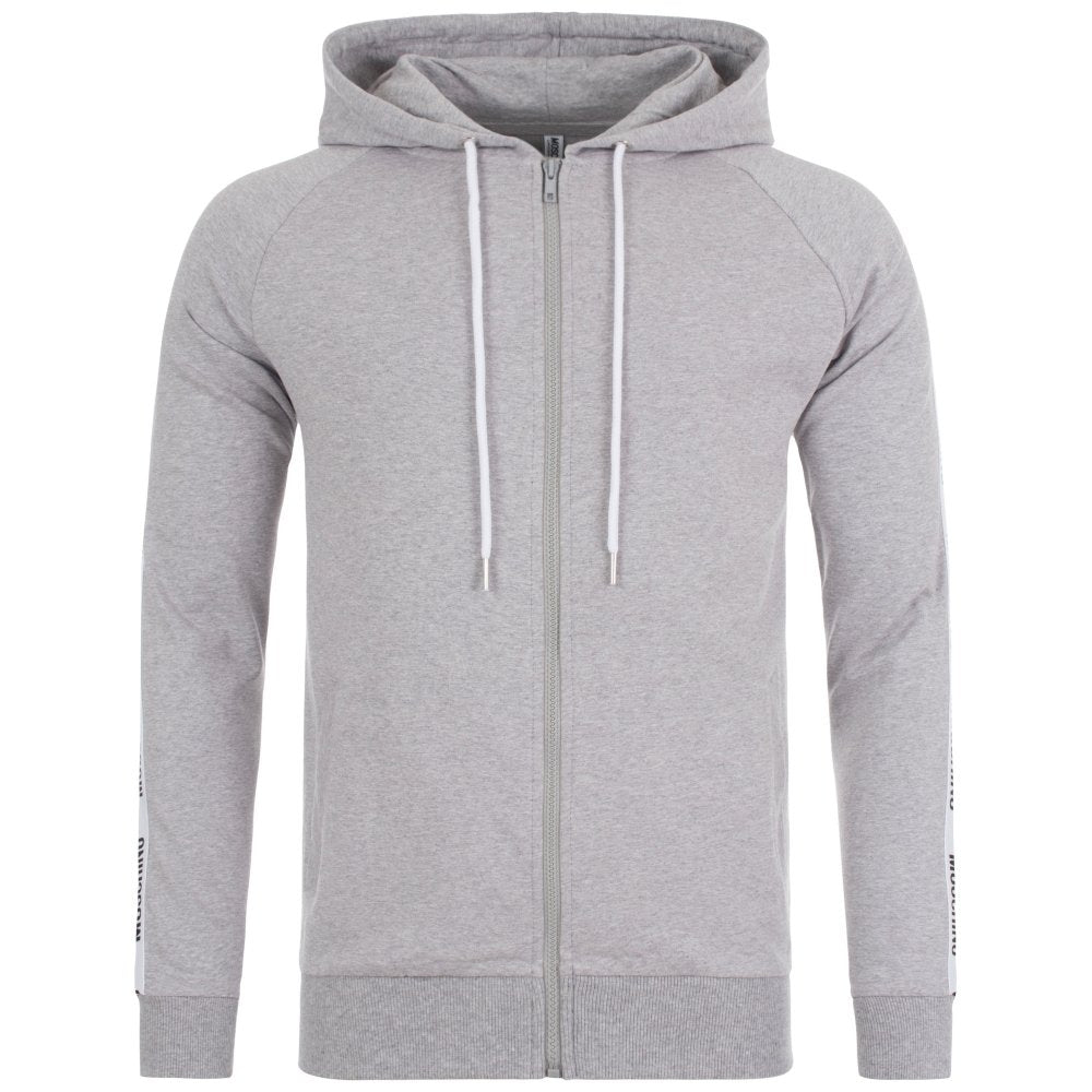 Moschino Taped Hoodie Grey HemingCo