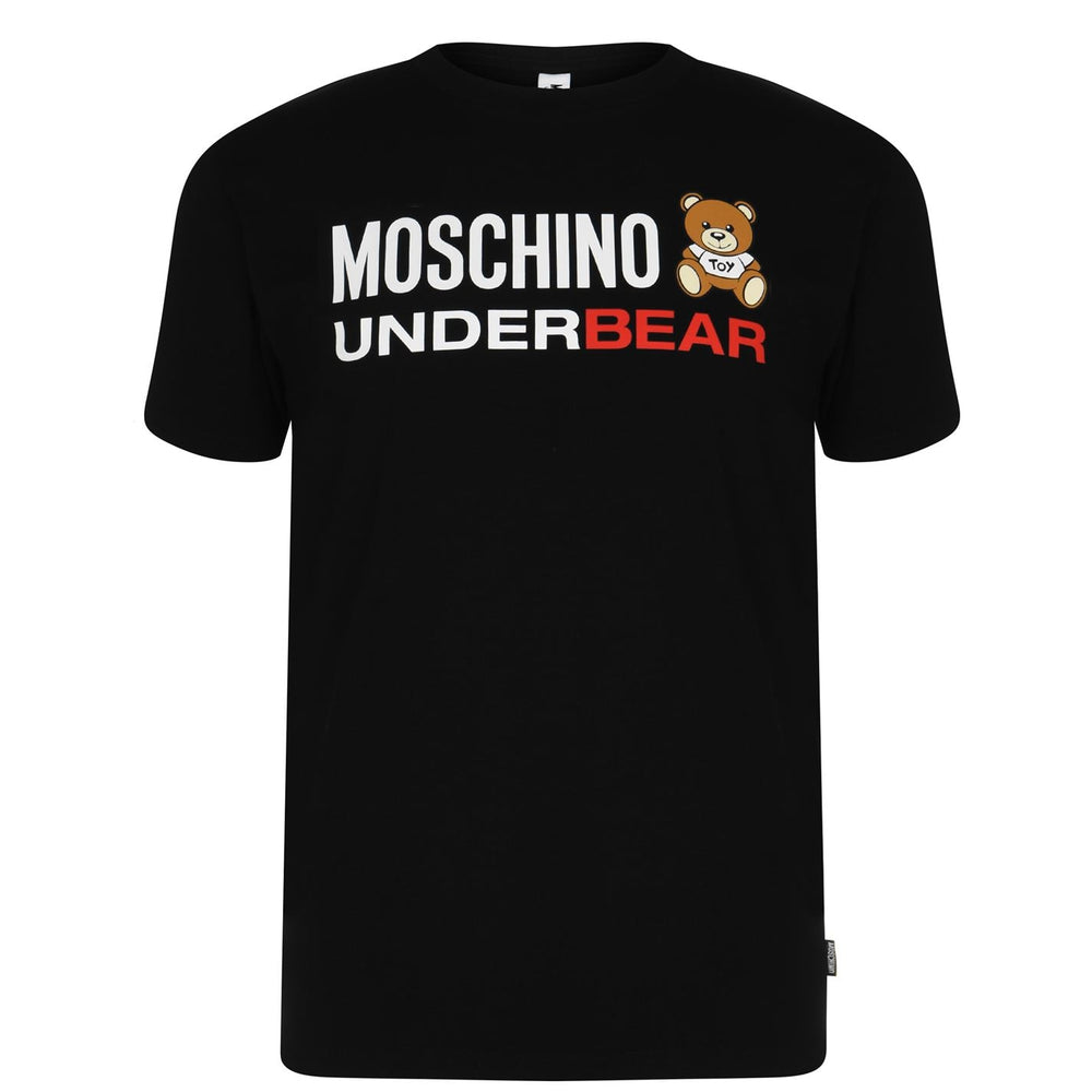Load image into Gallery viewer, Moschino Underbear T-Shirt Black HemingCo