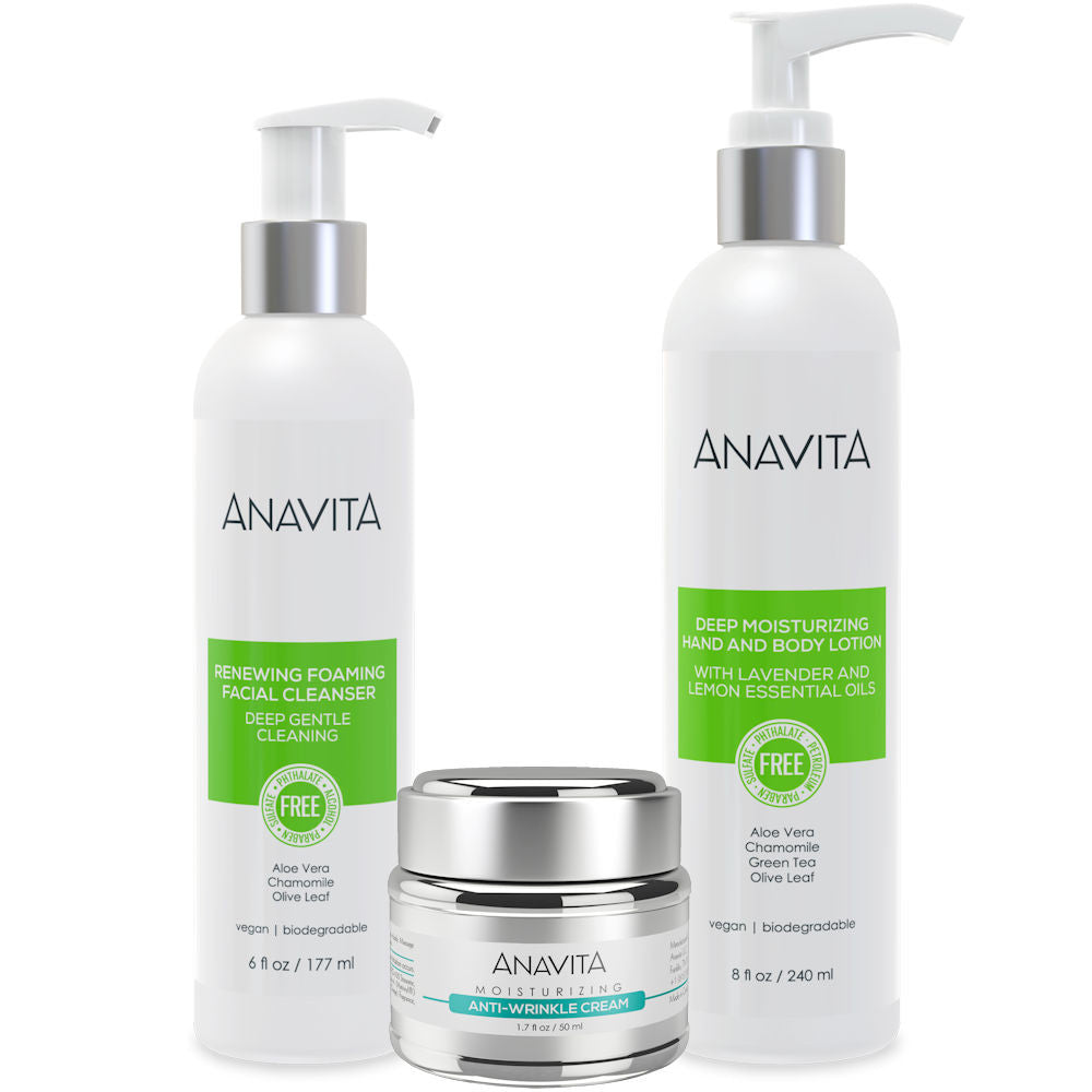Anavita Daily Skin Care Essentials Plus Body Lotion