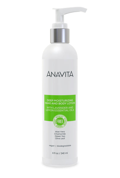 Anavita Deep Moisturizing Hand And Body Lotion