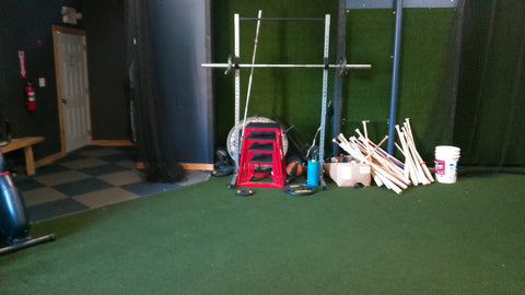 1/2 hour Cage rental, 5 players max. Hit Trax! weekdays 8am-3:30pm