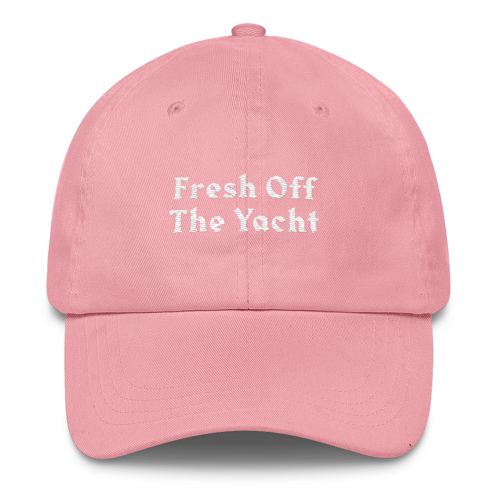 Fresh Off The Yacht Cap