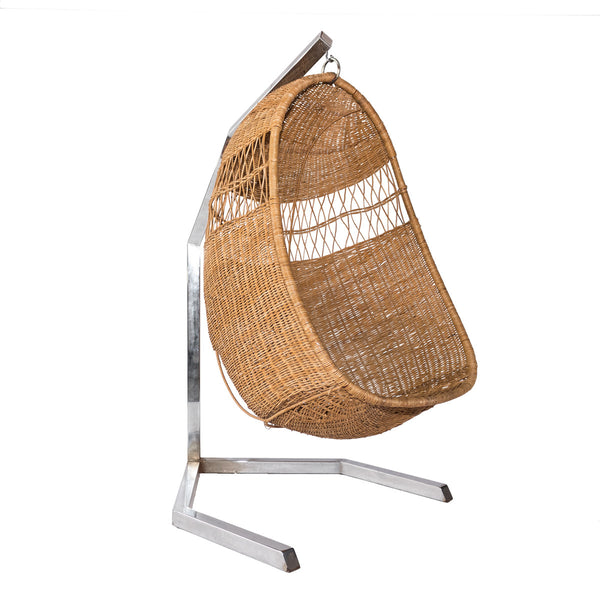 Wicker Swing Chair