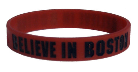 Believe in Boston - Red & Navy Blue Bracelet