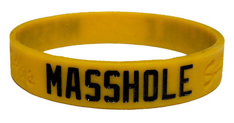 Masshole - Gold & Black Bracelet