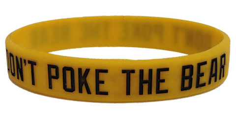 Don't Poke The Bear Bracelet
