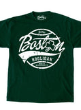 Boston Hooligan - Circle Green T-Shirt