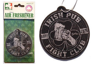 Irish Pub Fight Club Air Freshener