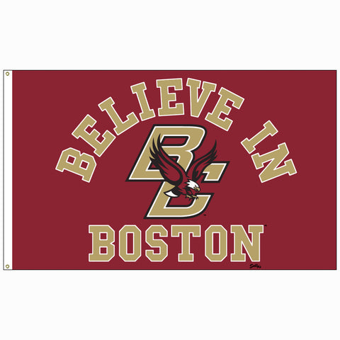 Believe In Boston - Boston College - 3'x5' Flag