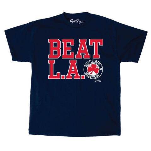 Beat LA - Navy - T-Shirt