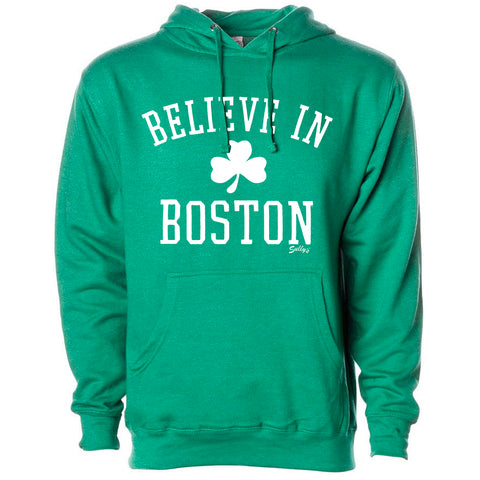 Believe in Boston - Classic Shamrock - Sweatshirt