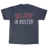 Believe In Boston - Heather Navy Shirt & DD Giftcard