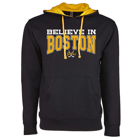 Believe in Boston -  The Town - Lightweight Hoodie