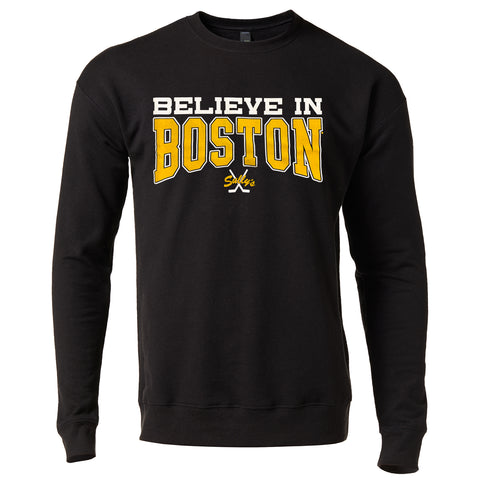 Believe In Boston - The Town - Crew Neck Sweatshirt