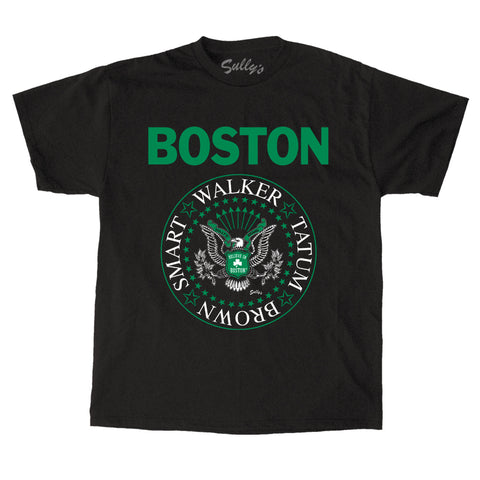 BOSTON - Basketball Eagle - T-Shirt