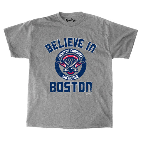 Believe in Boston - Boston Cannons T-Shirt