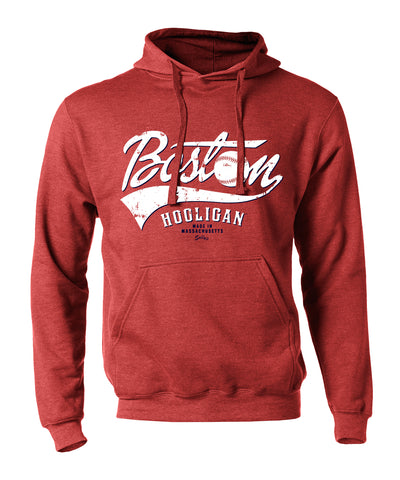 Boston Hooligan - Heather Red - Sweatshirt