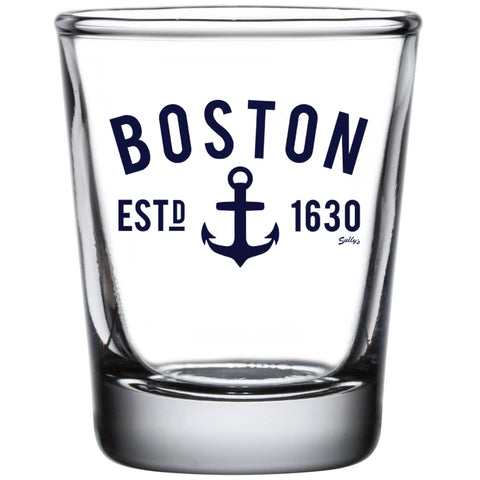 Boston Anchor Shot Glass