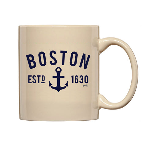 Boston Anchor Coffee Mug