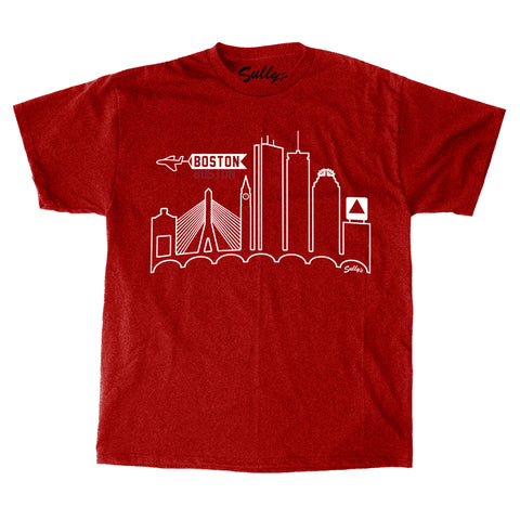 Boston Skyline T-Shirt