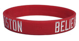 Believe In Boston - Boston University - Silicone Bracelet