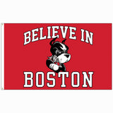 Believe In Boston - Boston University - 3'x5' Flag