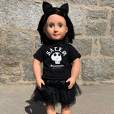 "Salem Skull - 18"" Doll 3 Piece Outfit"