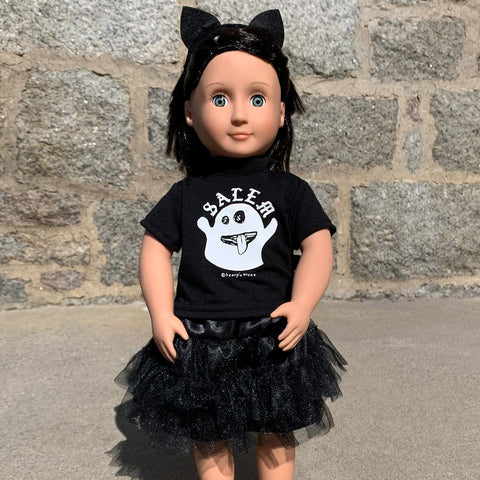 "Salem Ghost - 18"" Doll 3 Piece Outfit"