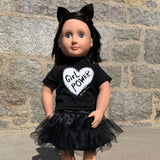 "Girl Power - 18"" Doll 3 Piece Outfit"