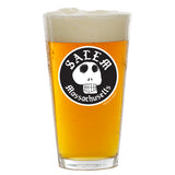 Salem Skull Pint Glass