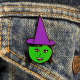 Purple Hat Witch Enamel Pin (HAWC Benefit)