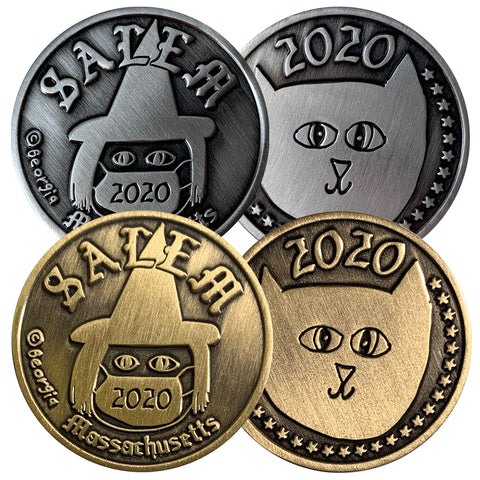 Salem, Massachusetts 2020 Commemorative Coin