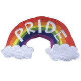 Pride Rainbow Embroidered Patch