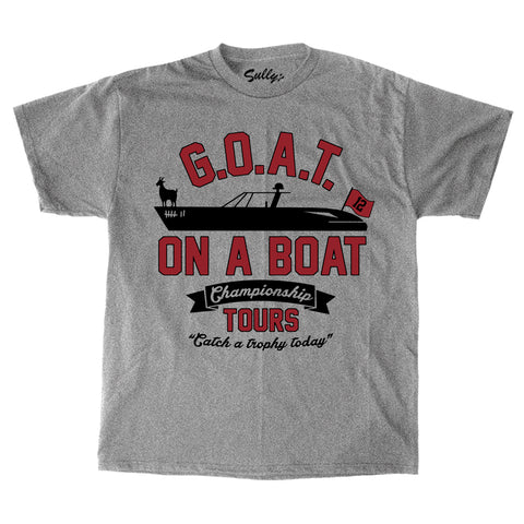 G.O.A.T on a Boat - T-Shirt