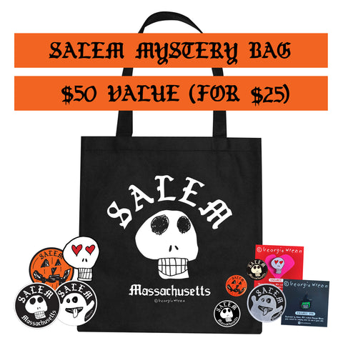 "Georgia $50 Value ""Salem"" Halloween Mystery Bag"