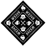 Georgia Skull/Ghost Salem Bandana