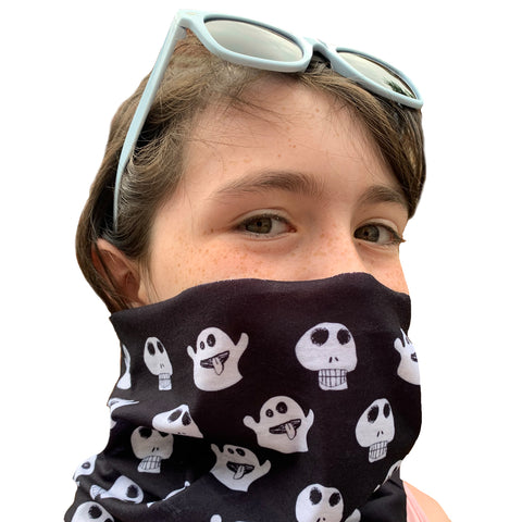 Skulls and Ghosts - Neck Gaiter