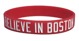 Believe In Boston - Northeastern University - Silicone Bracelet