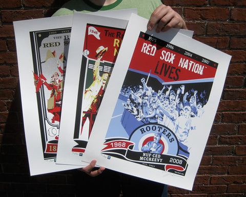 Rooters Limited Edition Screen Printed 3 Poster Set