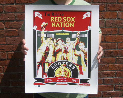 ROOTERS 1926-1967 Limited Edition Screen Printed Poster