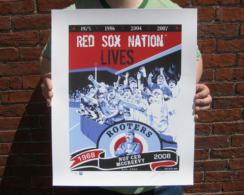 ROOTERS 1968-2008 Limited Edition Screen Printed Poster