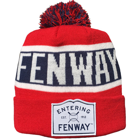 Entering Fenway - Pom Beanie