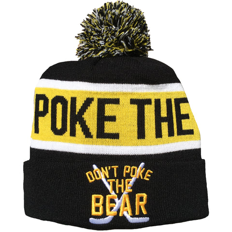 Don't Poke The Bear - Pom Beanie